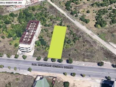 Teren la 1km de metrou coeficienti urbenistici excelenti