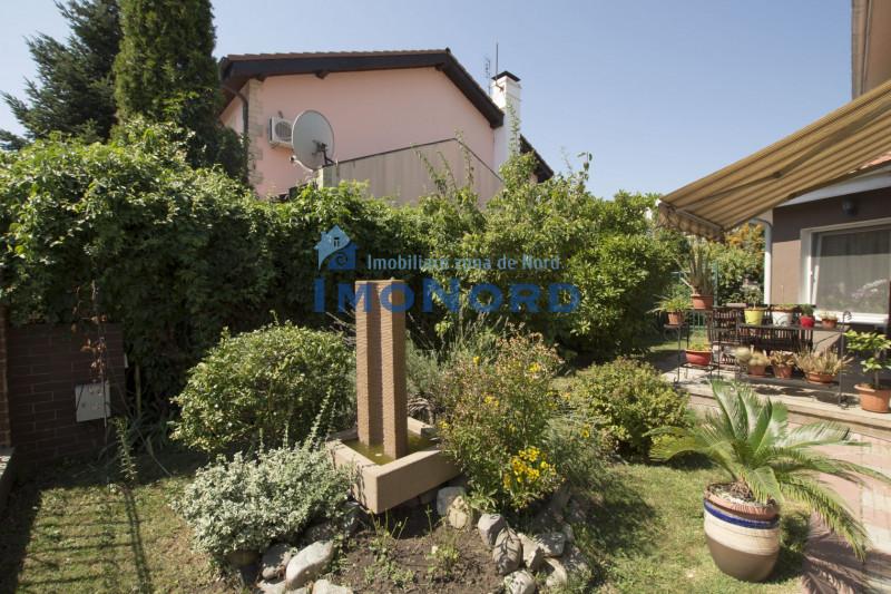 Pipera OMV  vanzare vila individuala in Ansamblu Residential