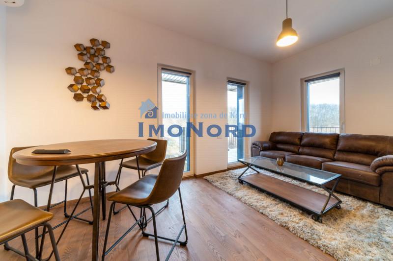 Apartament 2 camere modern, prima inchiriere, garaj subteran Padurea Baneasa