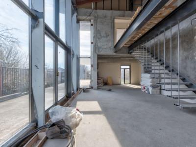 Vila Buftea, proiect de arhitectura premiat, materiale deosebite!