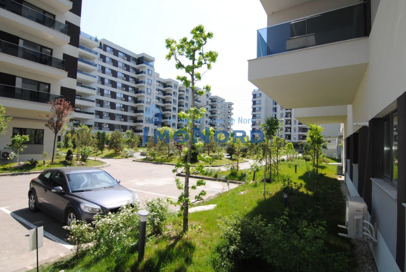 Apartament nou, mobilier nou si loc de parcare, in 4 City